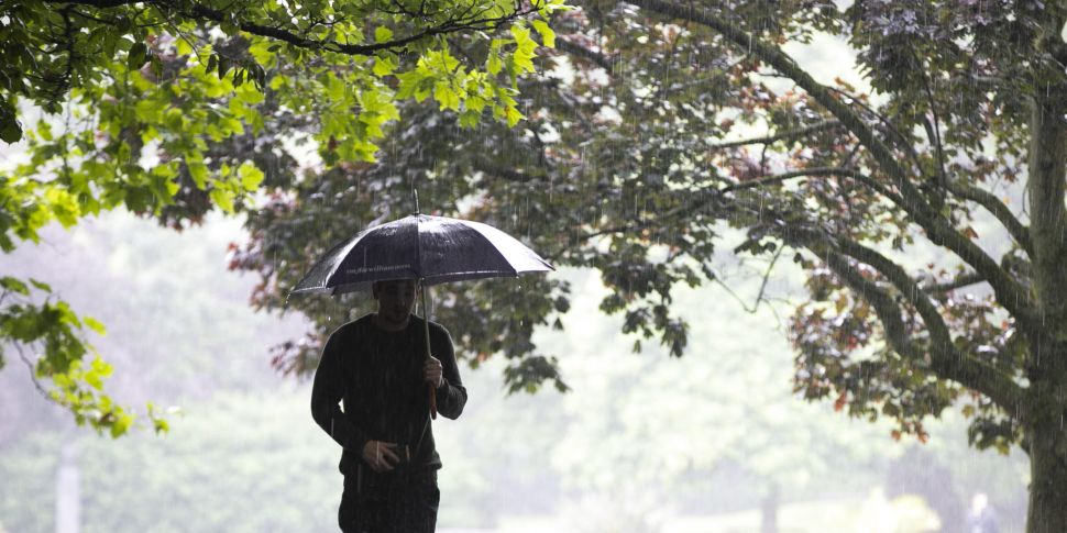 Weather warning issued for eve...