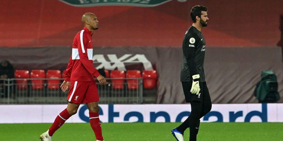 Fabinho and Alisson to return...