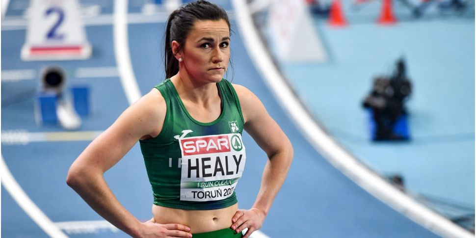 Phil Healy narrowly misses out...