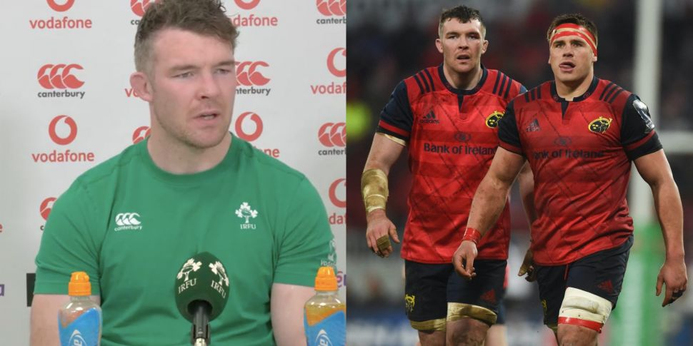 Peter O'Mahony pays glowing tr...
