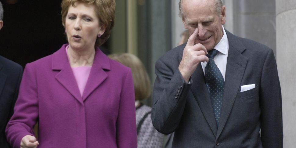 Mary McAleese remembers Prince...