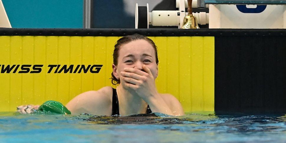 McSharry leads Irish swimming...