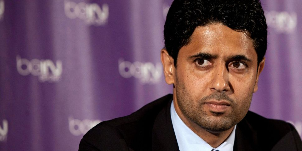 PSG chairman Nasser Al-Khelaif...