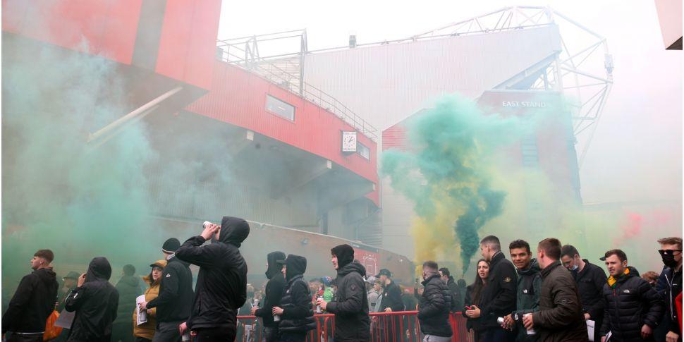 WATCH: Fans storm Old Trafford...