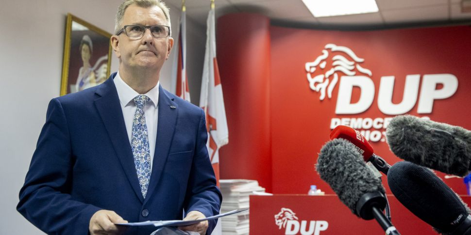Jeffrey Donaldson announces DU...
