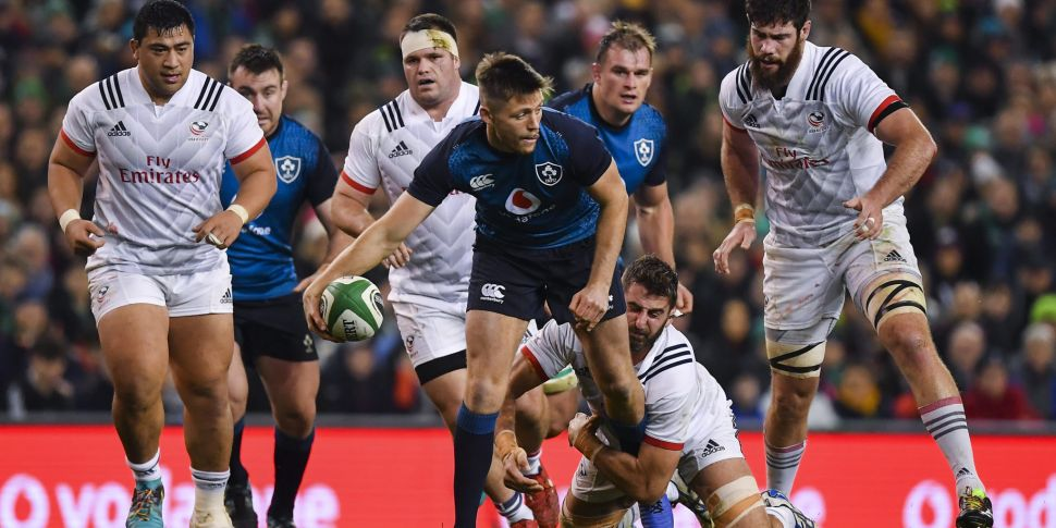 Ireland to face USA Eagles in...