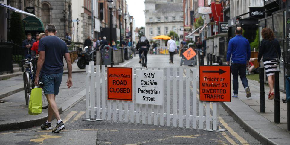 Work begins to pedestrianise f...
