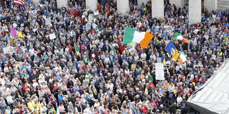 Any new water charges push wil...