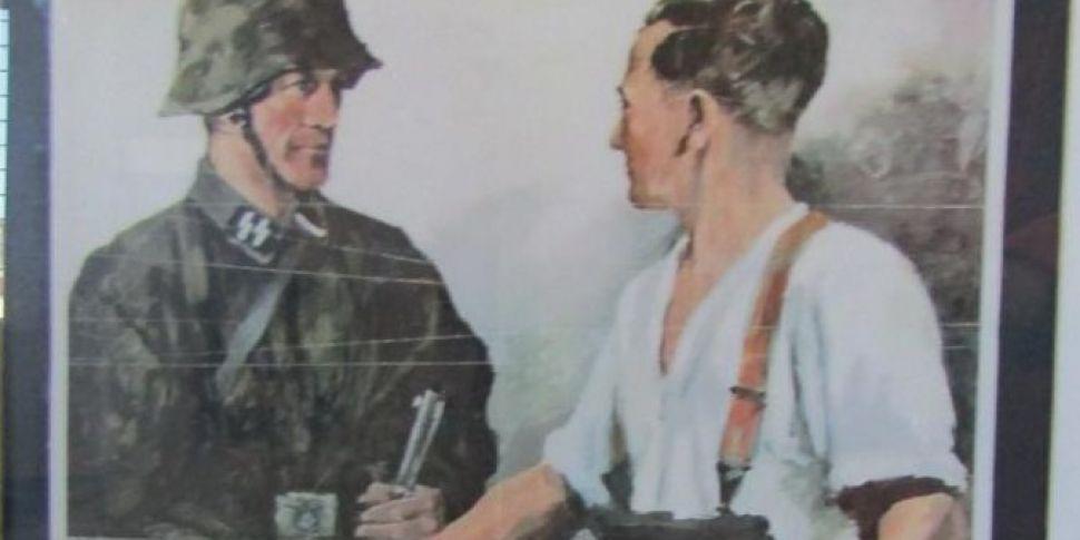Nazi propaganda poster shouldn...