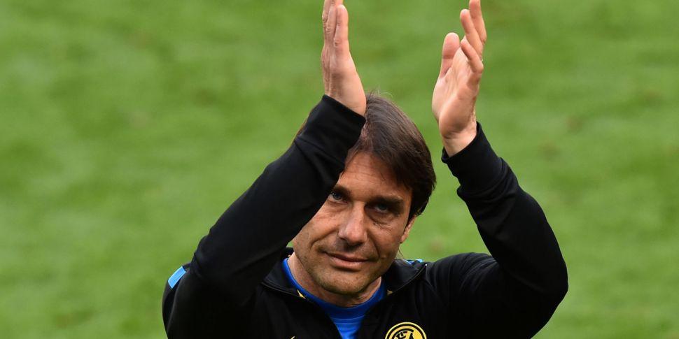 Antonio Conte leaves Inter aft...