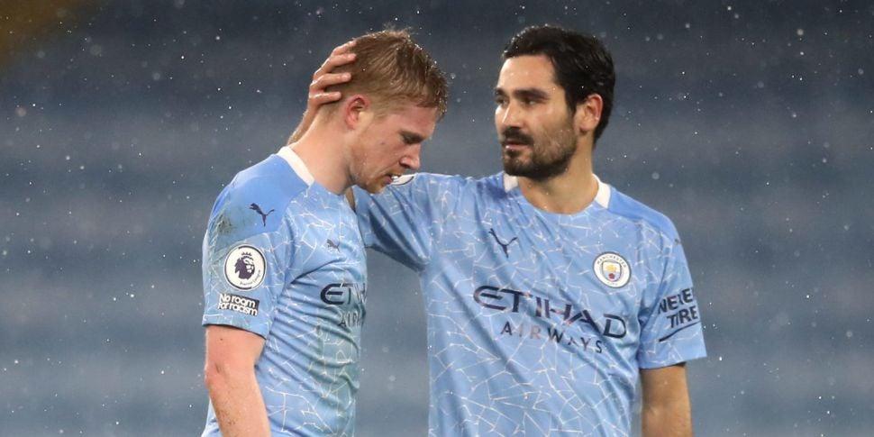 Champions Manchester City domi...