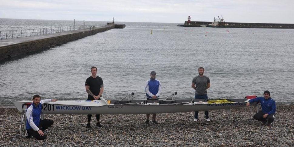 Five Irish men planning to row...