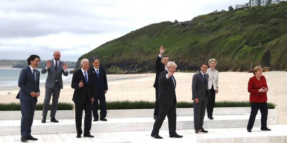 G7 leaders pledge to provide o...