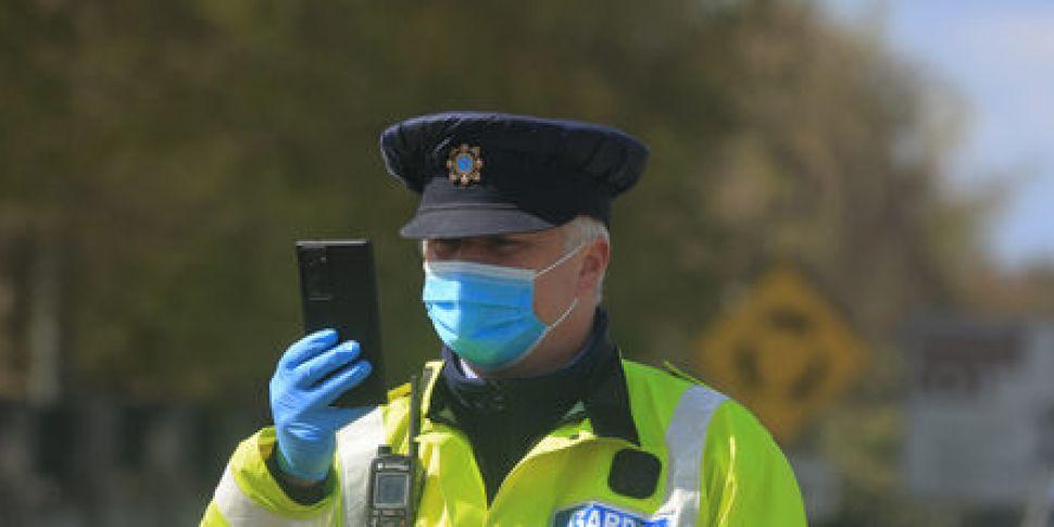 Garda body cameras: 'The data...