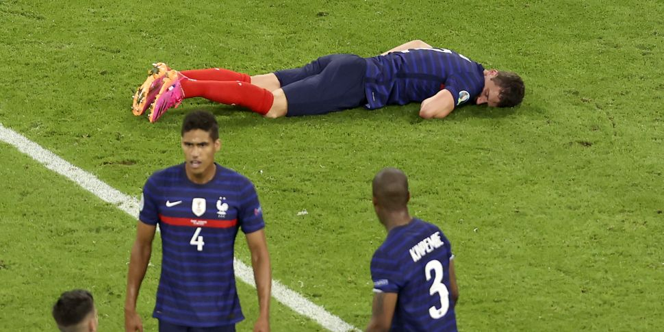 Doctors confirm Pavard did not...