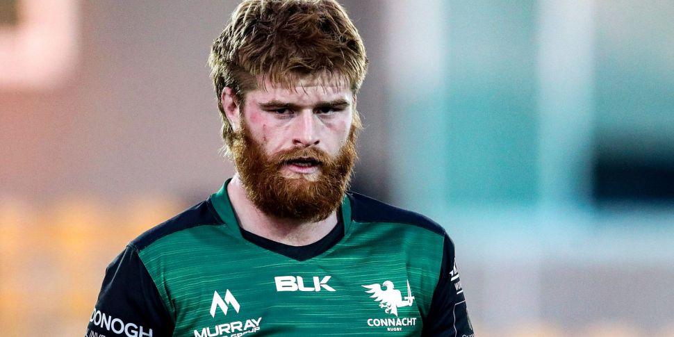 Connacht flanker Sean O'Brien...