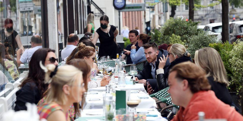 Indoor dining: Ireland 'litera...