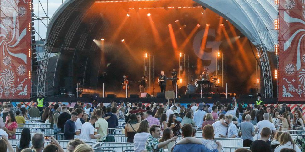 Ireland's first music festival...
