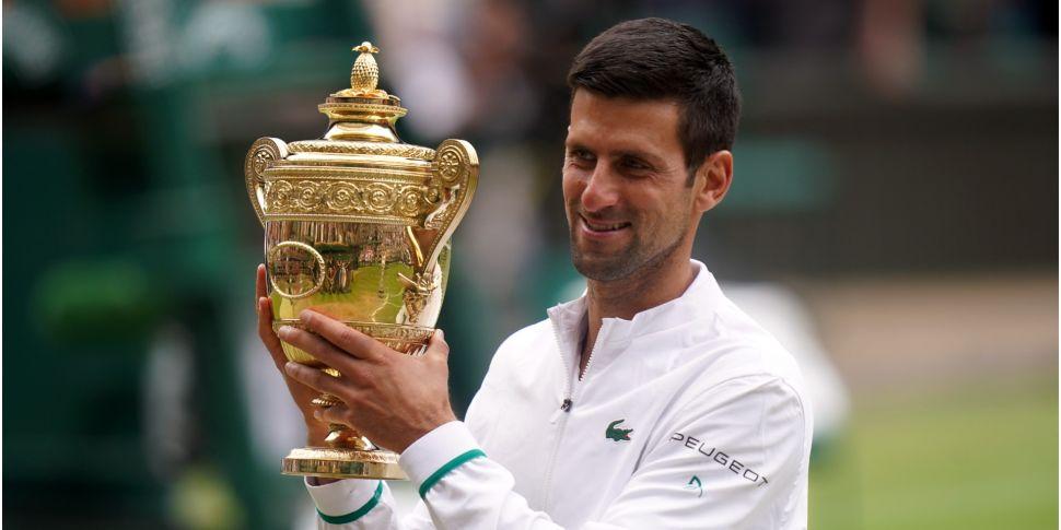 Novak Djokovic wins sixth Wimb...