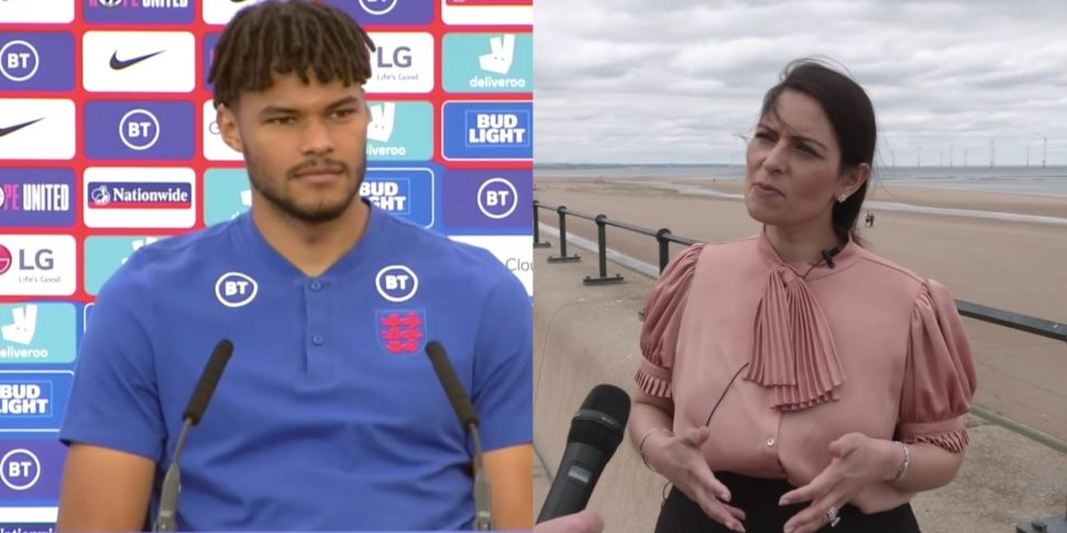 England's Tyrone Mings claims...