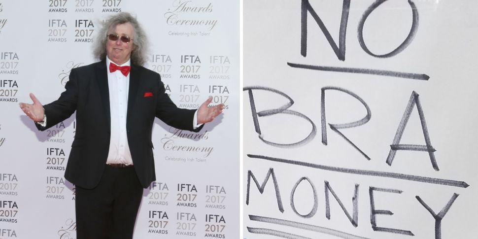 Mattress Mick: 'No Bra Money'...