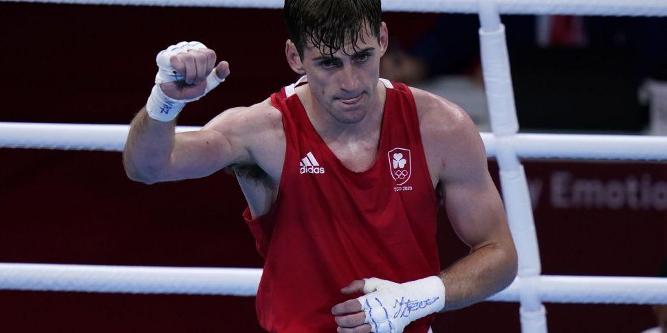 Boxer Aidan Walsh to take home...