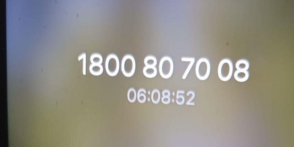 'It's not a helpline if it doe...