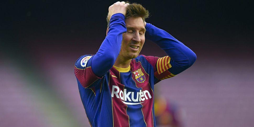 Barcelona confirm Lionel Messi...