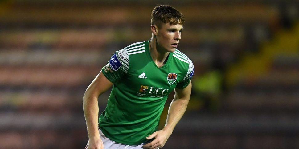 Cork City defender Jake O'Brie...