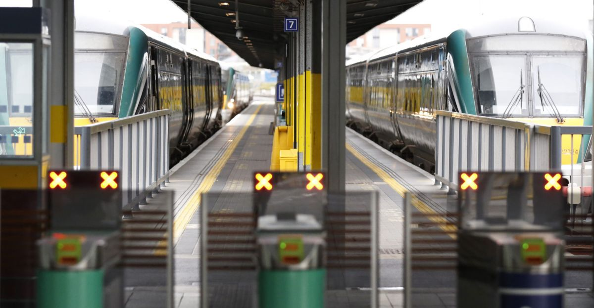 All Ireland final: All trains sold out as 40,000 Cork and Limerick fans travel to Dublin thumbnail