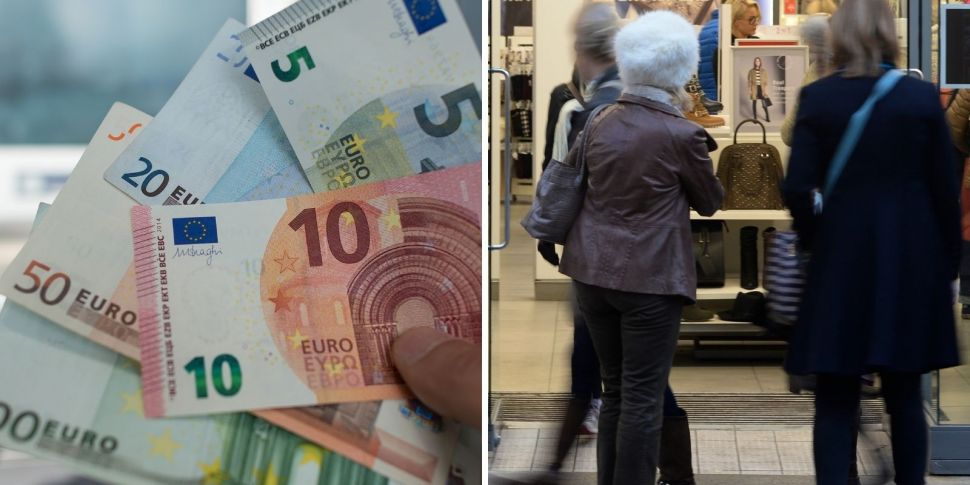 'If you spend €100 you should...
