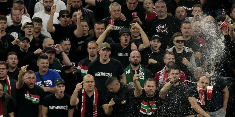 Hungary given stadium ban foll...