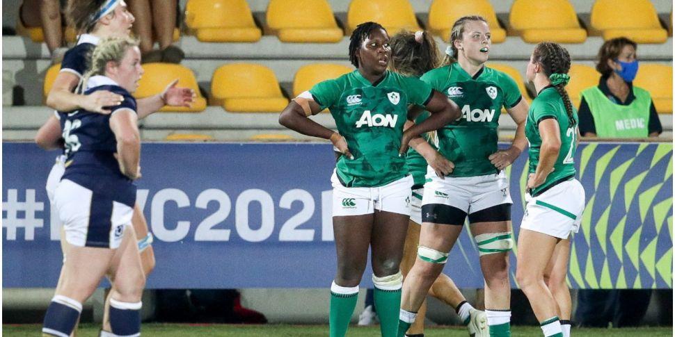 Irish women's rugby team fail...