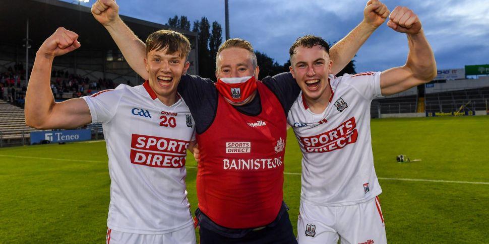Pat Ryan departs Cork U20 hurl...