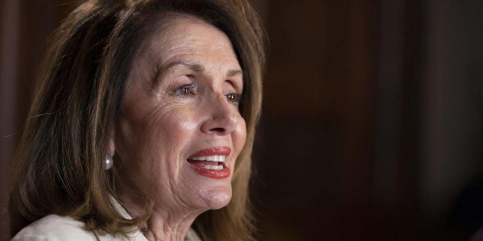 US House Speaker Nancy Pelosi...