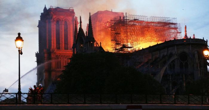 French priest saved priceless relics from the flames of Notre-Dame