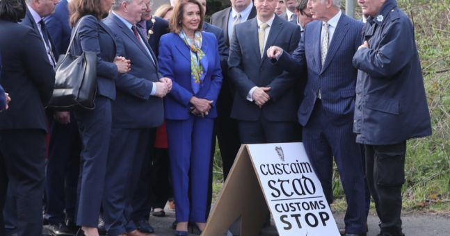"Good Friday Agreement ""example of reconciliation"" to the world - Pelosi"