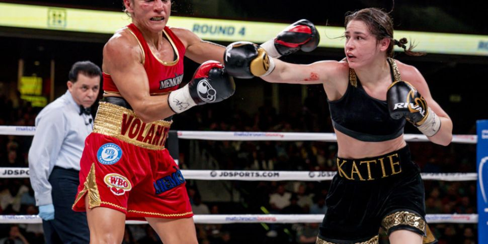 Katie Taylor's unification cla...