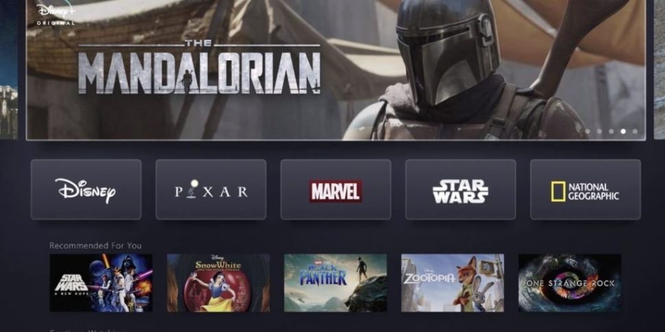 Disney+ streaming service to b...