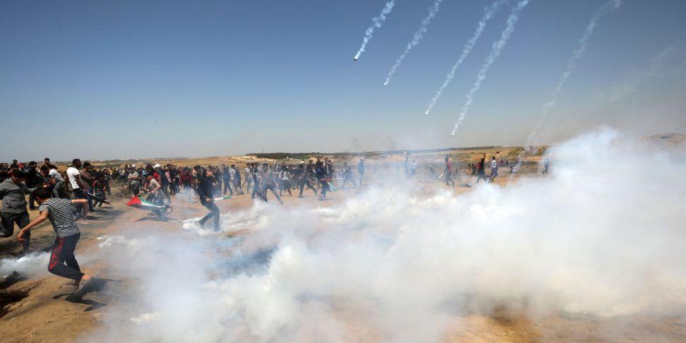 At least 65 injured as Israeli...