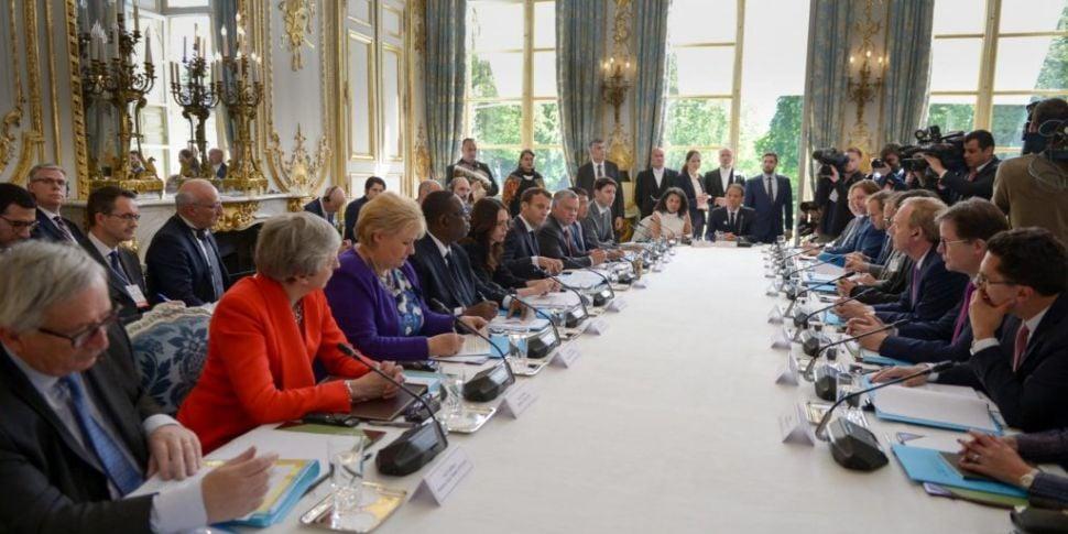 Tech giants and world leaders...