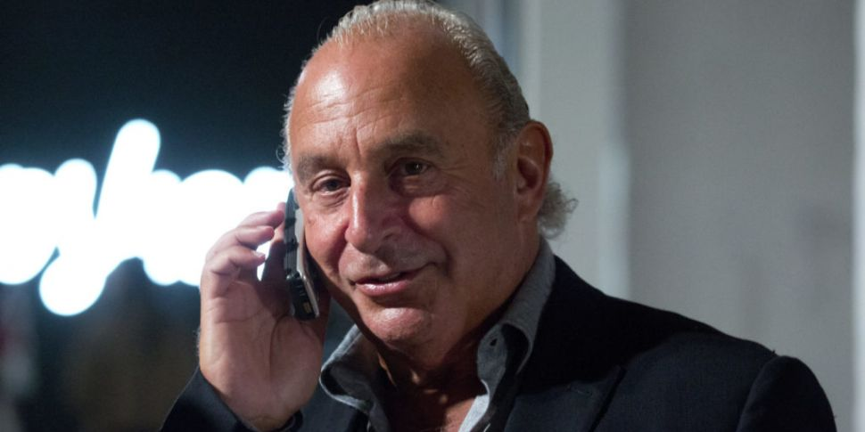 Philip Green no longer billion...