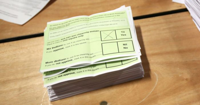Every constituency votes in favour of Divorce Referendum