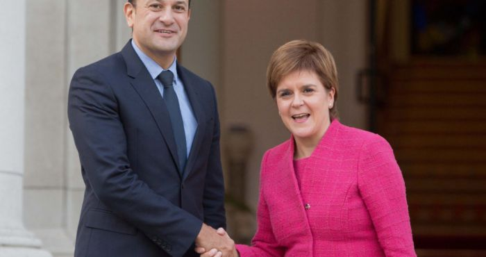 Nicola Sturgeon visits Dublin to discuss business links and Brexit