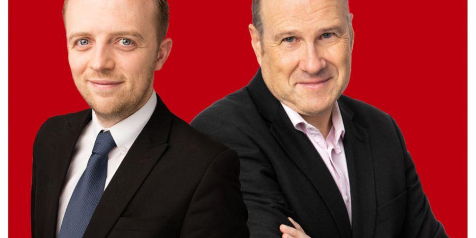 Ivan Yates and Gavan Reilly gi...