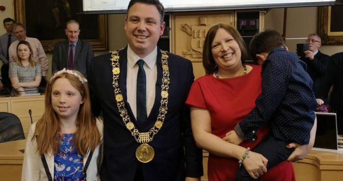 Fianna Fáil councillor Paul McAuliffe elected as Lord Mayor of Dublin