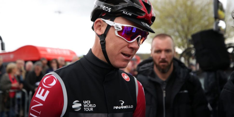 Chris Froome admits he's lucky...
