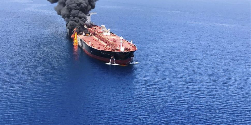 US blames Iran for oil tanker...