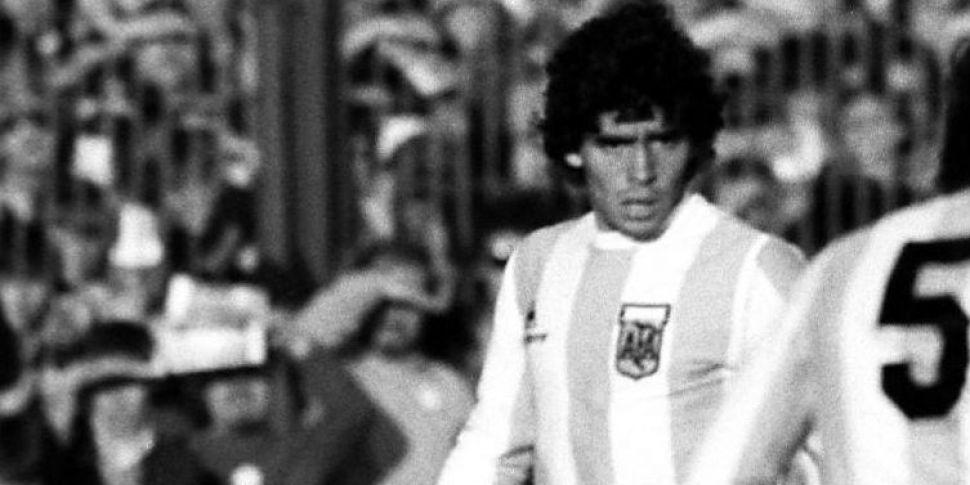 When a teenage Maradona faced...
