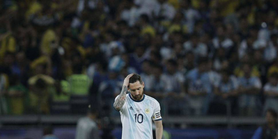 Brazil beat Messi's Argentina...